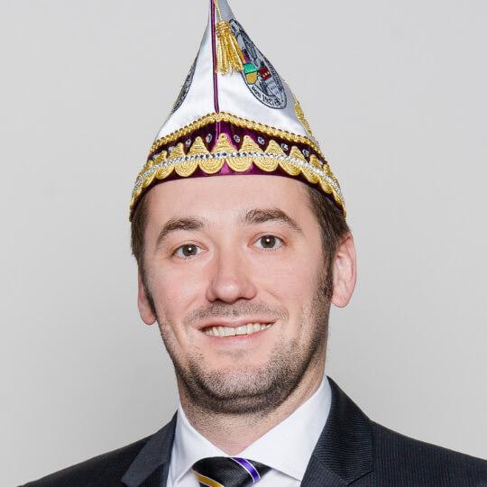 Daniel Siebert - Schatzmeister der Fidelen Burggrafen