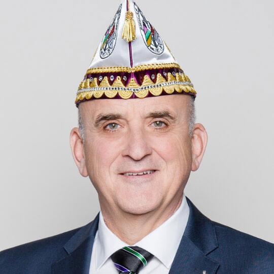 Hermann Ferrang - 2. Vorsitzender der Fidelen Burggrafen