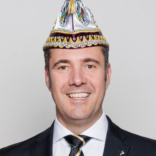 Marcus Schneider - Präsident der Fidelen Burggrafen